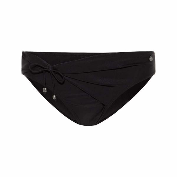 BEACHLIFE - HIGH bikinislip - zwart
