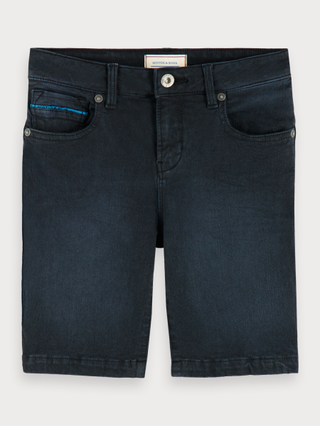 SCOTCH & SODA - DENIM short - donker blauw