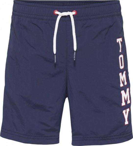 TOMMY - Logo Zwemshort boys - donkerblauw