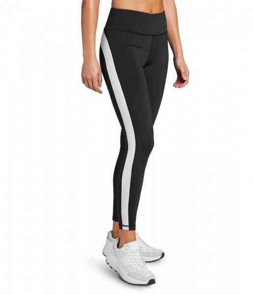 BJORN BORG - STHLM HIGH WAIST STRIPE legging dames - zwart