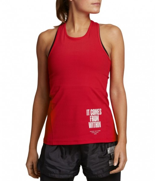 BJORN BORG - NIGHT W Rib Top - rood