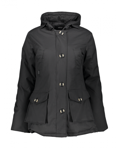 4 POCKET HERRINGBONE jas - donker grijs