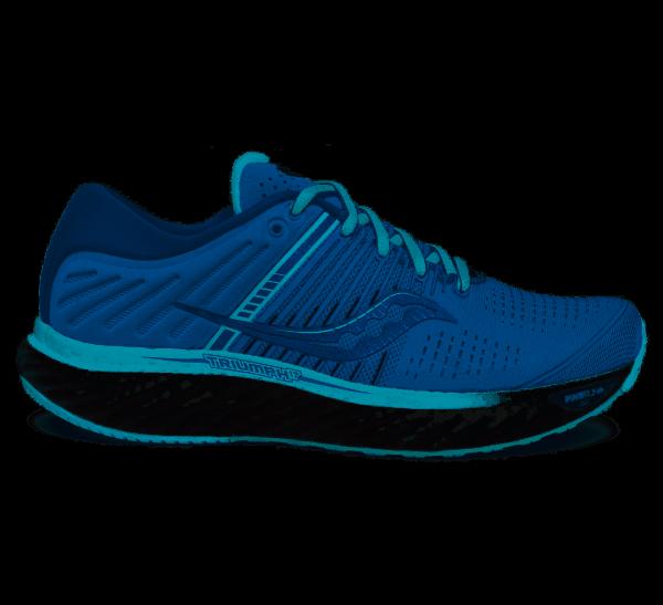 SAUCONY - TRIUMPH 17 schoenen - blauw