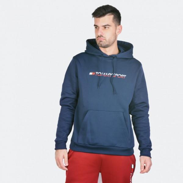 TOMMY - FLEECE sweater - donker blauw