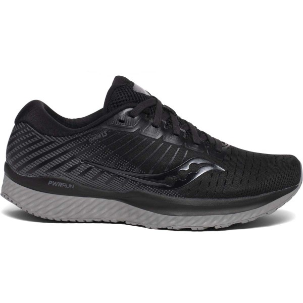 SAUCONY - GUIDE 13 schoenen - zwart