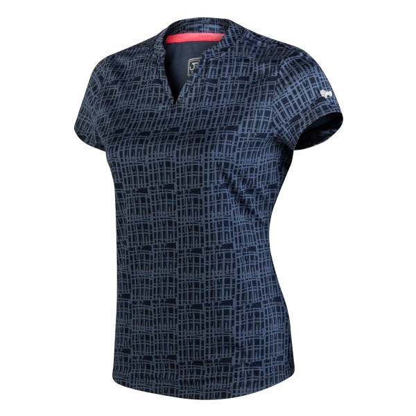 SJENG - BLEGONIA shirt - donker blauw - Haarlem