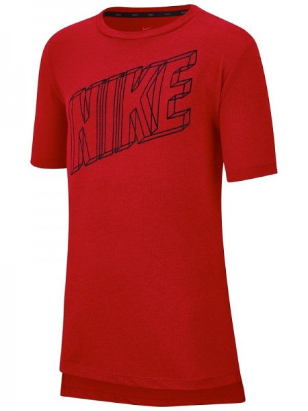 NIKE - BREATHE t-shirt kids - rood