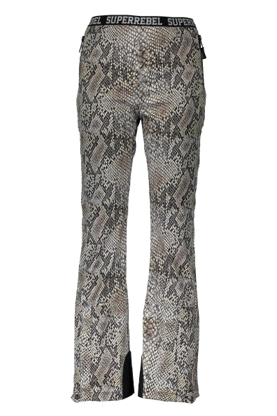 SUPER REBEL - SHELL ski-broek - bruin