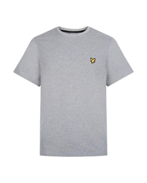LYLE & SCOTT - MARTIN SLEEVE T-shirt - grijs - Haarlem