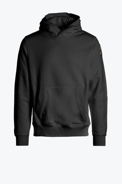 PARAJUMPERS - TRACK hoodie heren - zwart