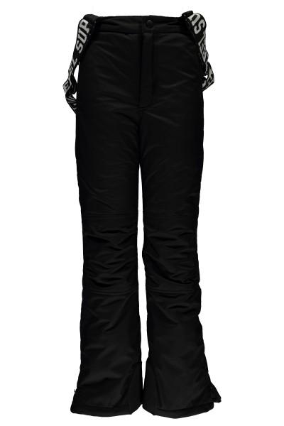 SUPER REBEL - PLAIN ski-broek - zwart