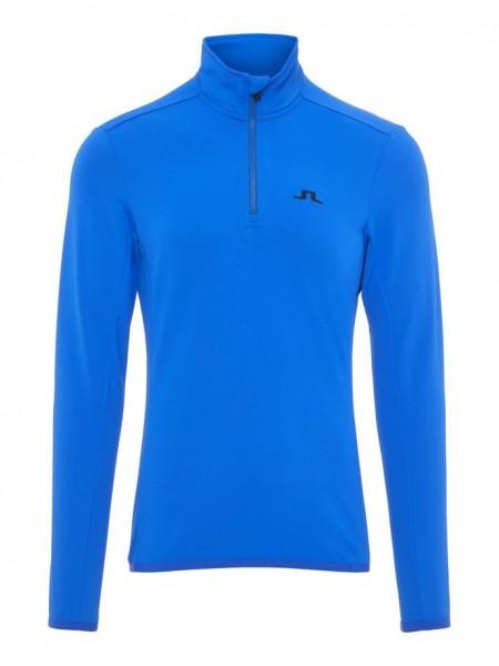 J. LINDEBERG - KIMBALL HALF ZIP pully - blauw