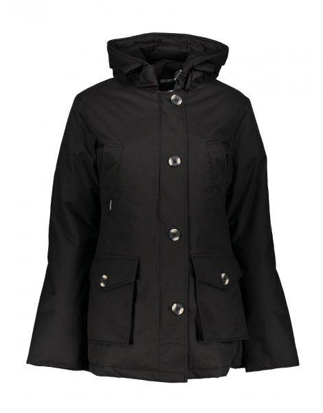 4 POCKET HERRINGBONE jas - zwart