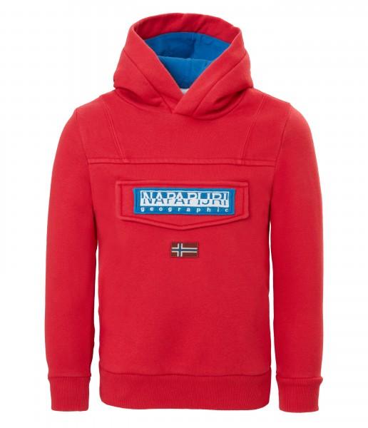 NAPAPIJRI - BURGEE 2 hoodie - rood