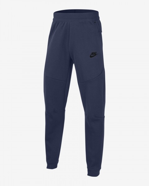 NIKE - TECH FLEECE Broek boys - donkerblauw
