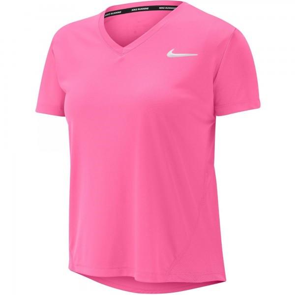 NIKE - MILER runningtop women - roze