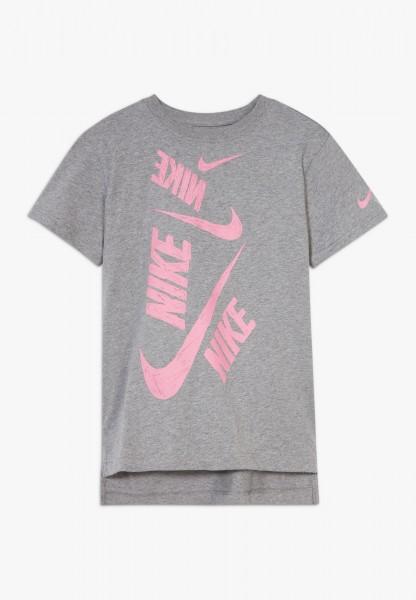 NIKE - SWOOSH T-shirt - grijs
