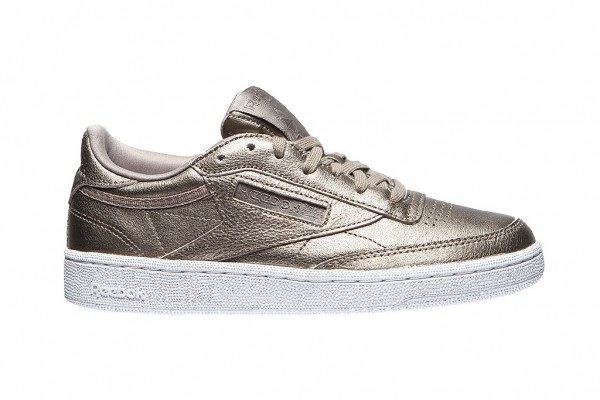 REEBOK - Club C 85 Melted Sneaker women - goud/grijs