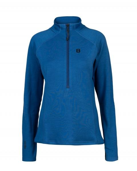 8848 ALITUDE - INGA 1/2 ZIP pully women - blauw