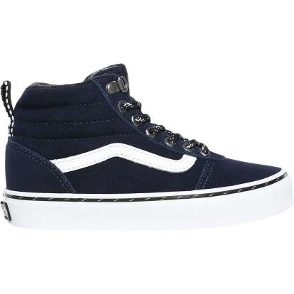 VANS - YT WARD HI schoenen kids - donker blauw