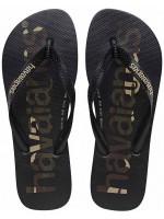 HAVAIANAS - TOP LOGOMANIA slippers kids - zwart