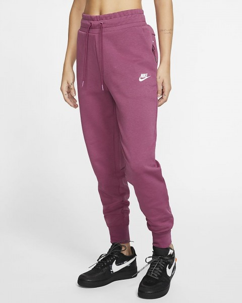 NIKE - TECH FLEECE broek women - roze