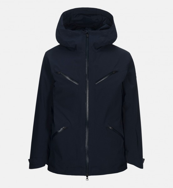 PEAK PERFORMANCE - LEDGE jas - donker blauw