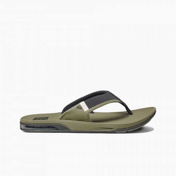 REEF - FANNING LOW slippers - groen
