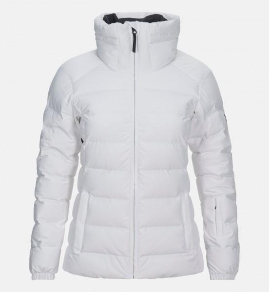PEAK PERFORMANCE - MEGEVE PADDED ski jas - wit