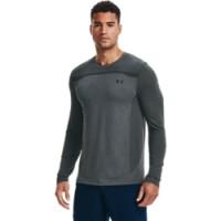UNDER ARMOUR - SEAMLESS LONGSLEEVE shirt men - grijs