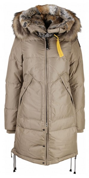PARAJUMPERS - LONG BEAR jas women - beige