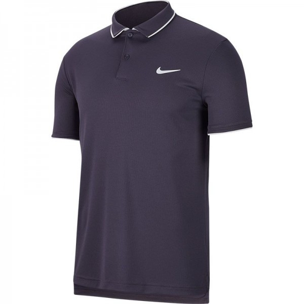 NIKE - COURT TEAM polo - donker blauw