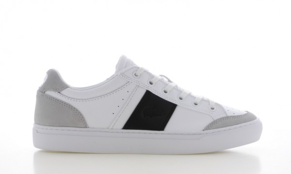 LACOSTE - COURTLINE Sneaker men - wit