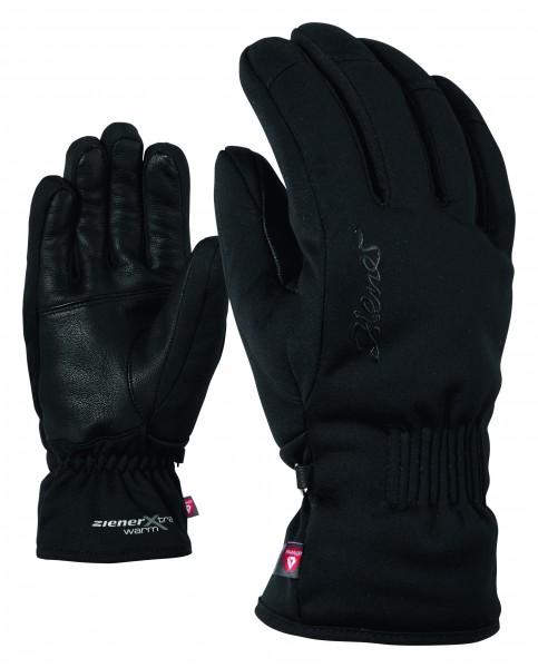 ZIENER - KARINE handschoen - zwart