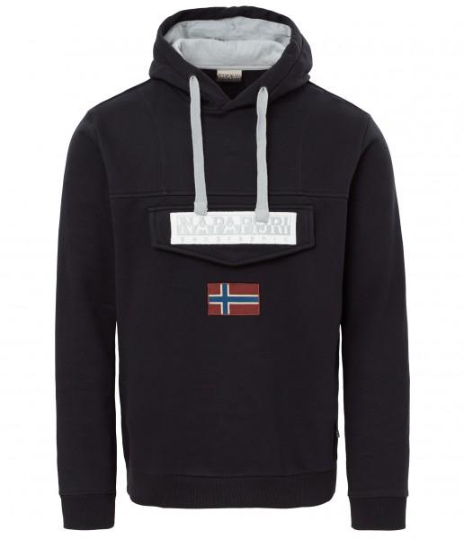 NAPAPIJRI - BURGEE hoodie - zwart