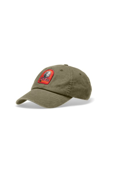 PARAJUMPERS - PATCH cap - donker groen