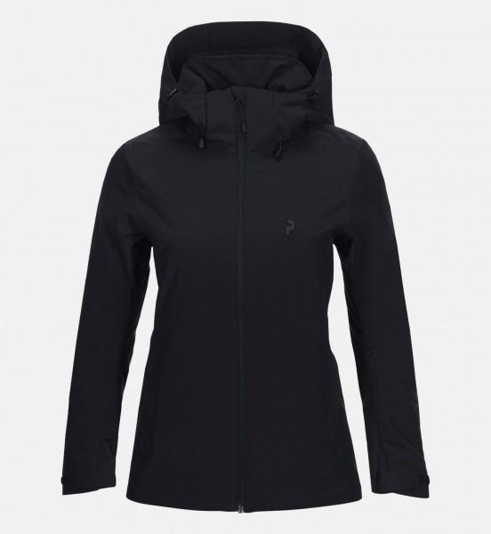 PEAK PERFORMANCE - ANIMA jas - zwart
