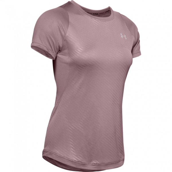 UNDER ARMOUR - QUALIFIER ISO T-shirt - roze