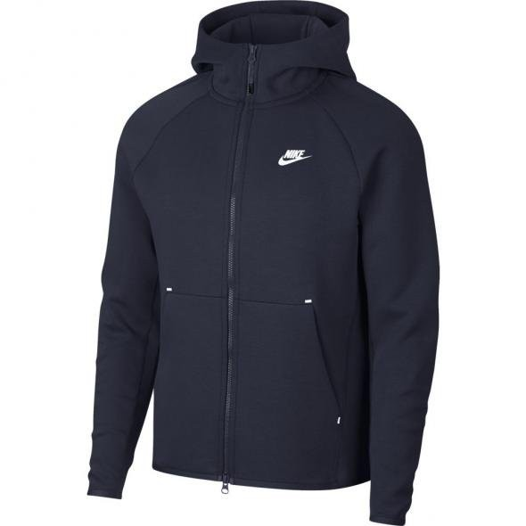 NIKE - TECH FLEECE sweater - donker blauw