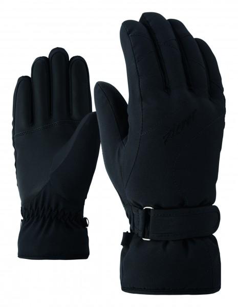 ZIENER - KADDY handschoen - zwart