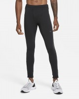 NIKE - thermische runningtights men - zwart