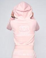 JUICY COUTURE - VELOUR ROBERTSON vest - roze