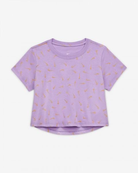 Nike - Sportswear Swooshes T-shirt girls - roze