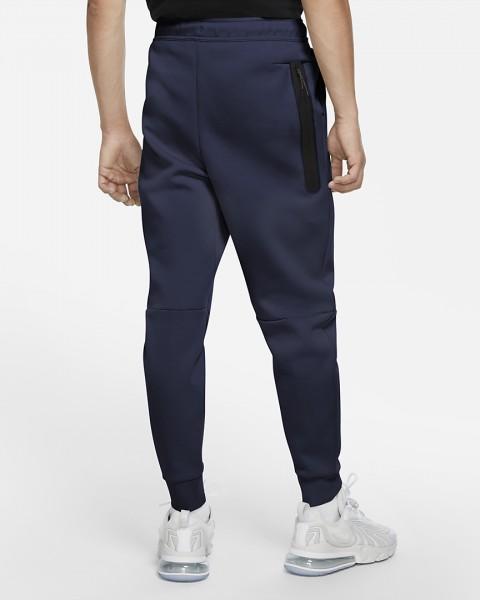 NIKE - TECH FLEECE broek men - donkerblauw