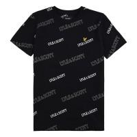 LYLE & SCOTT - OUTLINE t-shirt boys - zwart