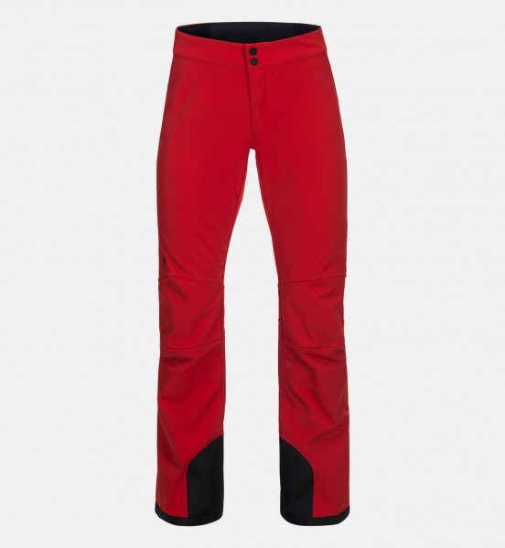 PEAK PERFORMANCE - PADDED STRETCH skibroek - rood