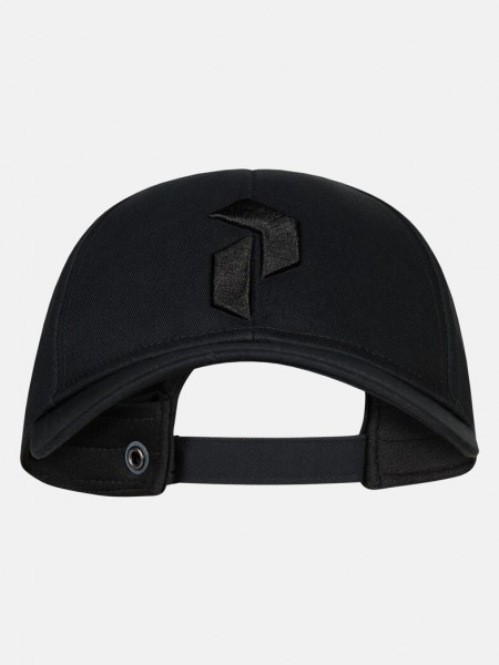 PEAK PERFORMANCE - RETRO cap - zwart
