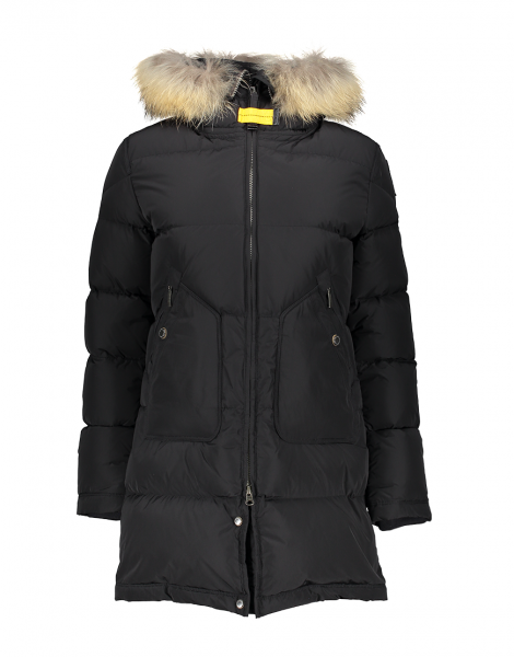 PARAJUMPERS - LIGHT LONG BEAR jas - zwart