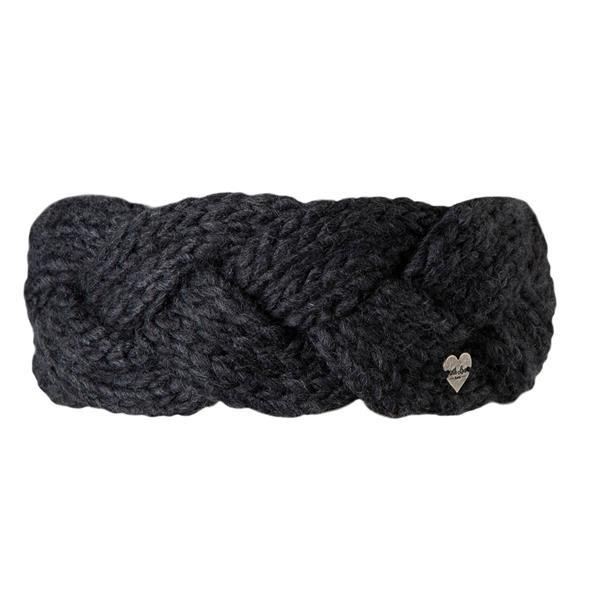 BARTS - JACKIE haarband women - donker grijs