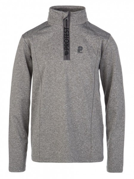PROTEST- WILLOWY JR ski pulli - dark grey melee - grijs - Haarlem - 3810300